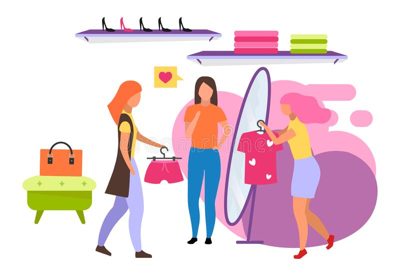 Clothing Store Cartoon Stock Illustrations – 5,011 ...