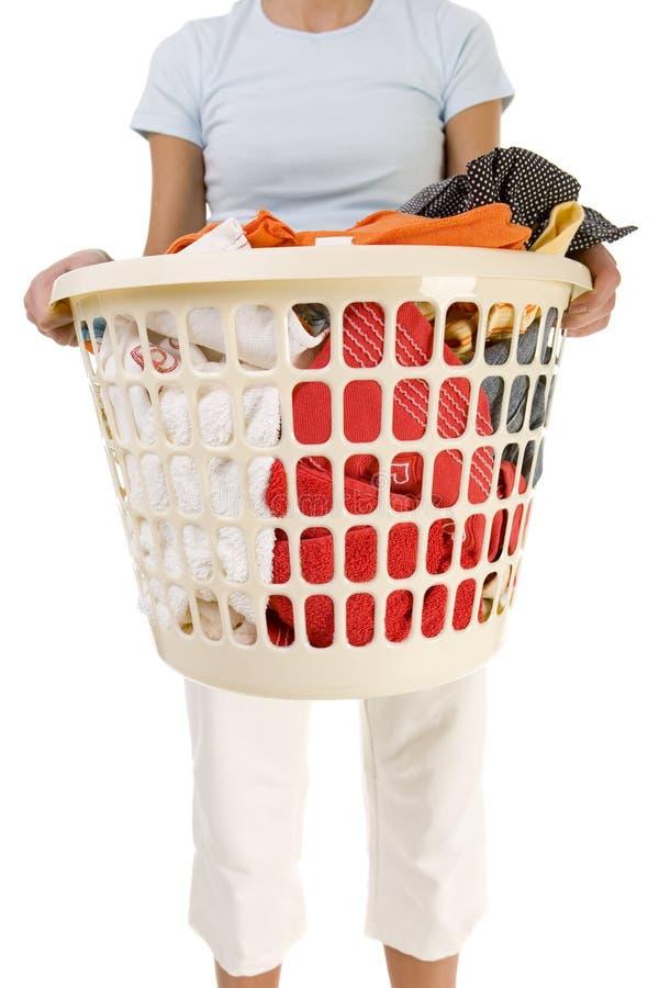 Clothing to the washing. stock photo