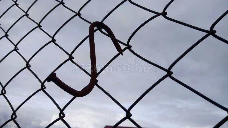 Clou sur le fil photo libre de droits