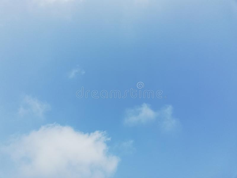 Cloud and blue sky stock images