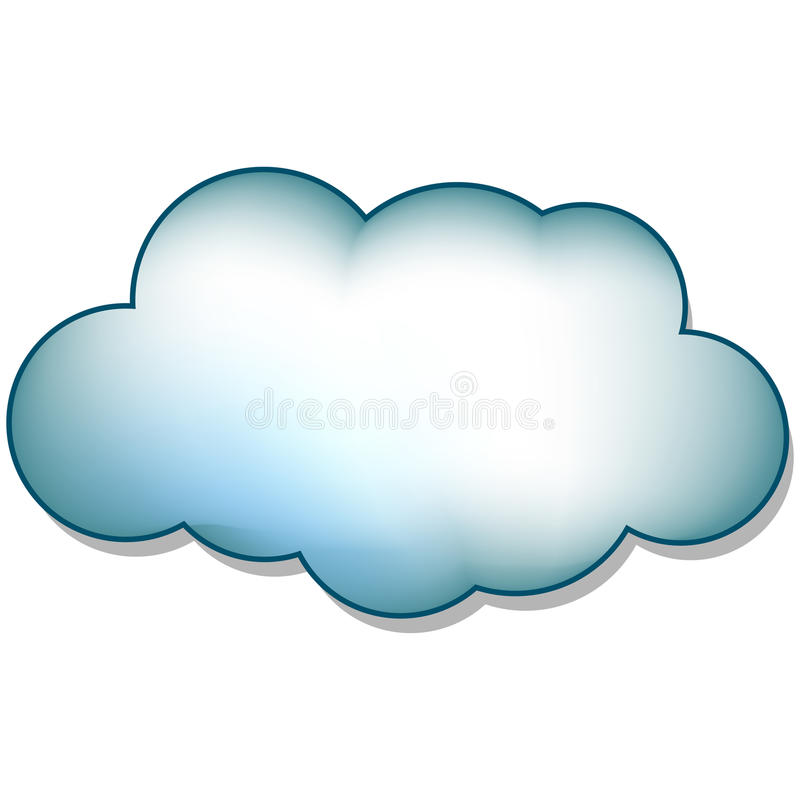 Download Cloud stock vector. Illustration of clip, image, spring - 14891309