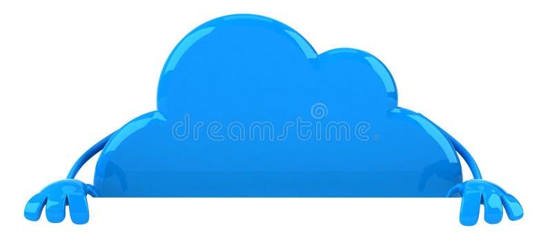 Download Cloud stock illustration. Image of design, internet, process - 24017847