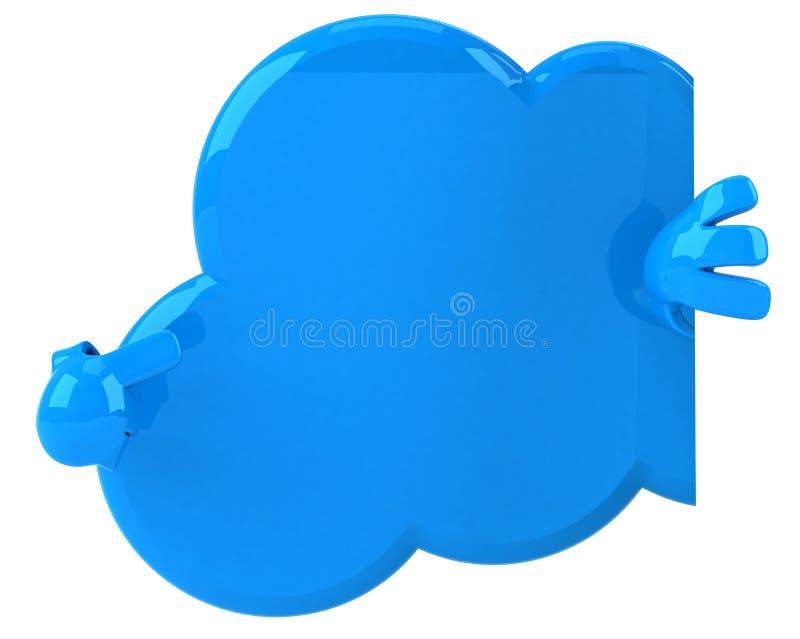 Download Cloud stock illustration. Illustration of design, computer - 24017851