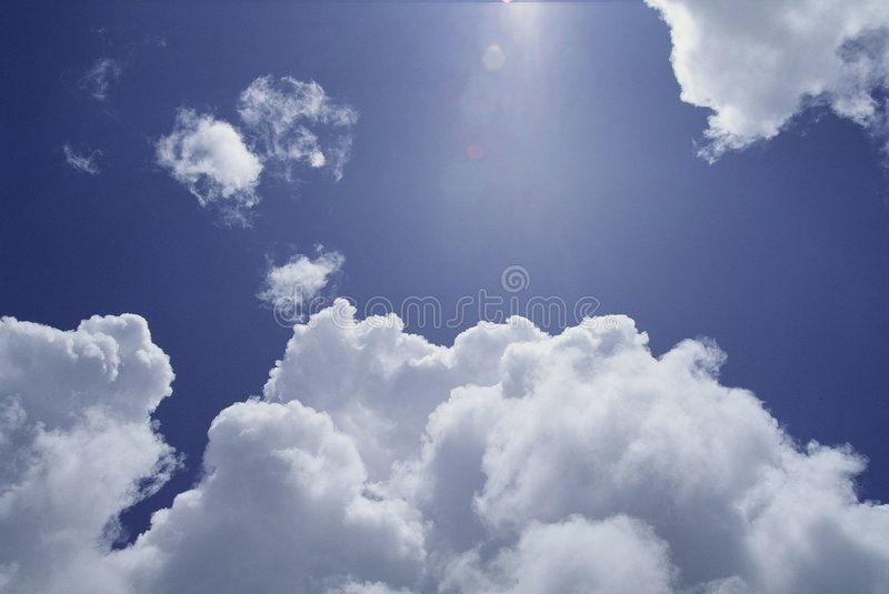 cloud fotografia stock