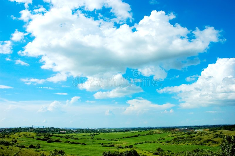 Cloud. The cloud with blove sky . shoot it on a fine day royalty free stock photo