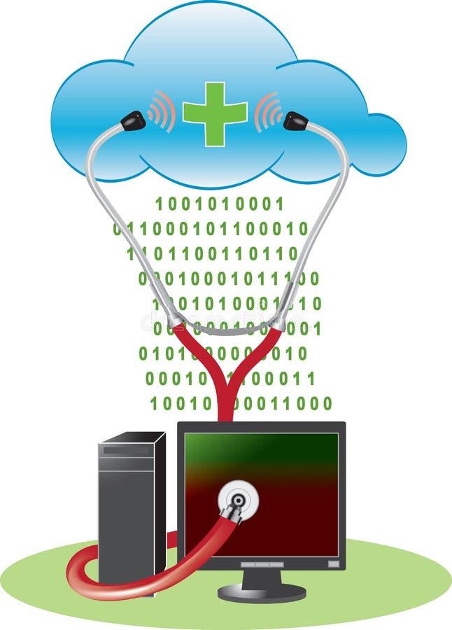 Download Cloud anti-virus concept stock photo. Image of anti, data - 18738174