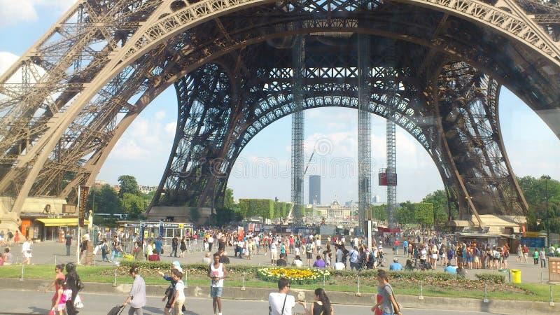 Cloud arch Paris stock photo