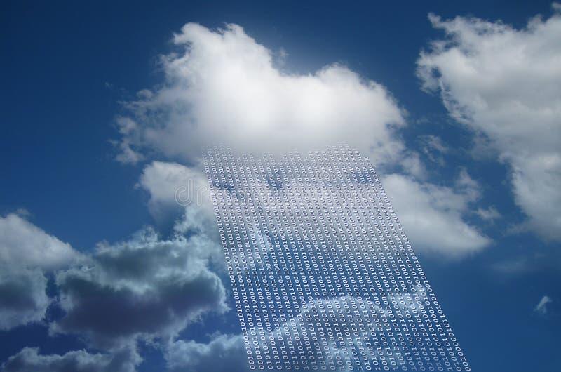 Cloud as cloud computing. And cloud data stock photos