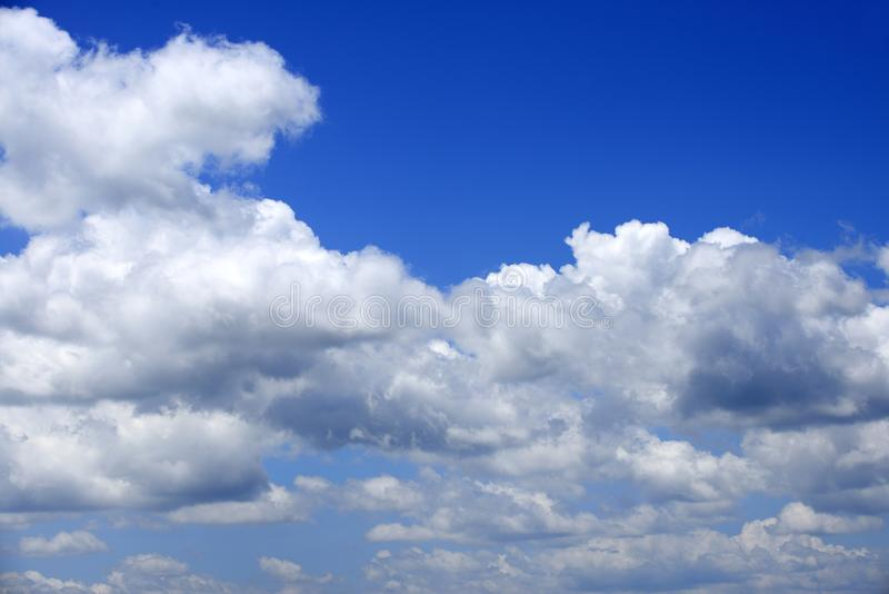 Cloud background and sky royalty free stock image