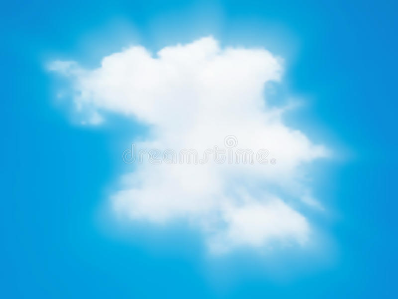 Download Cloud beam stock vector. Image of above, illustration - 20343772