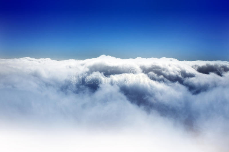Cloud and Blue sky. Cloud with Blue sky background stock images