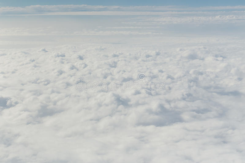 Cloud in the blue sky. Abstract background stock image
