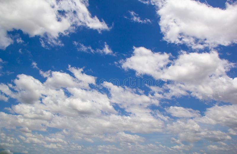 Cloud and blue sky. Background stock image
