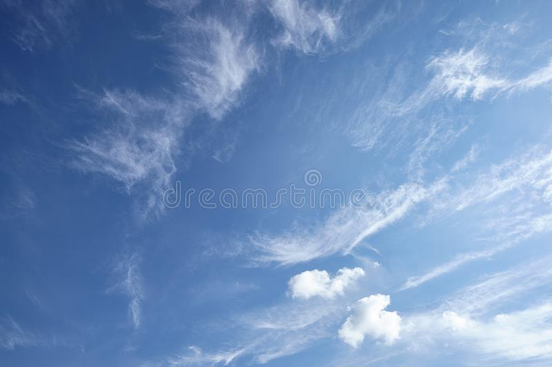CLOUD ON BLUE SKY. Background stock images