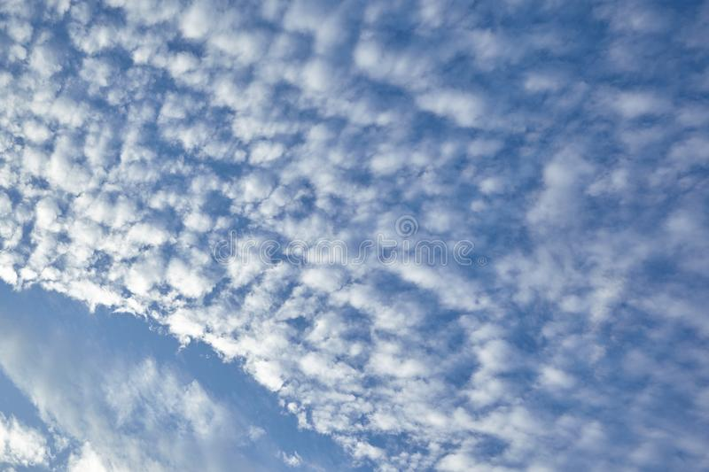 CLOUD ON BLUE SKY. Background royalty free stock photography