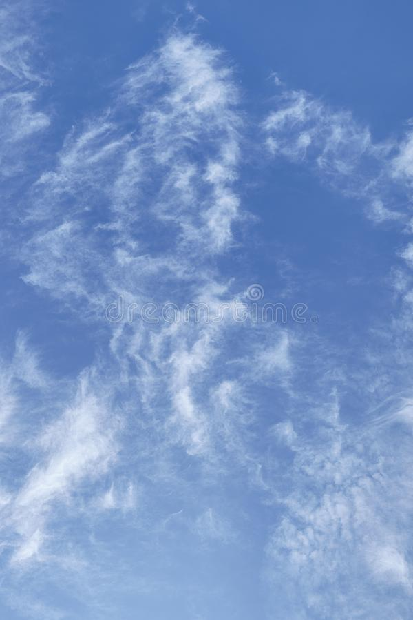 CLOUD ON BLUE SKY. Background royalty free stock images