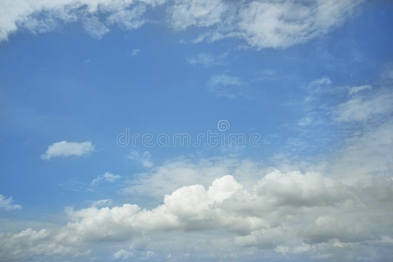 Cloud and blue sky. Background stock images