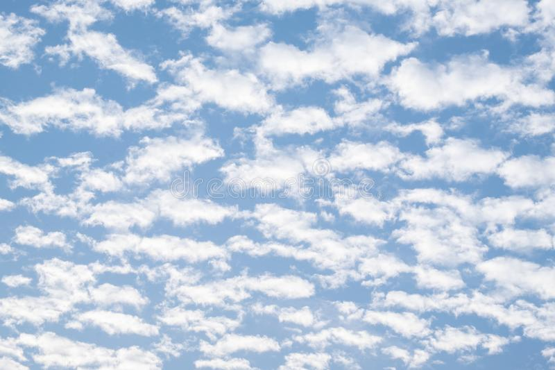 Cloud and blue sky. Beautiful cloud and blue sky background stock photo