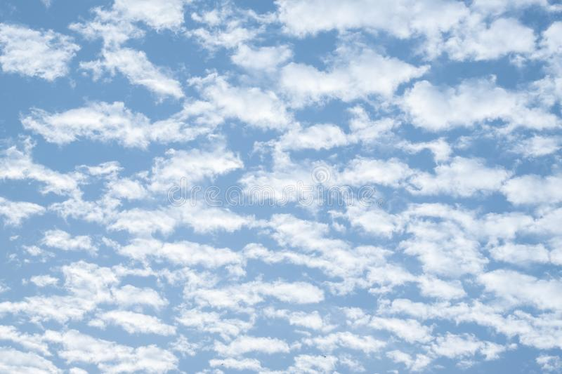 Cloud and blue sky. Beautiful cloud and blue sky background royalty free stock photography