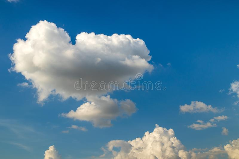 Cloud and Blue sky. Cloud and Blue sky with copy space royalty free stock photos