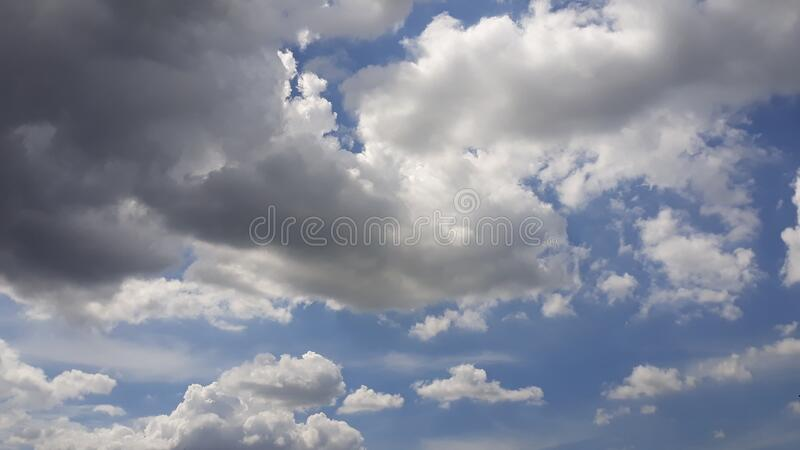 Cloud blue sky cloudy morning view. Cloud blue sky cloudy morning royalty free stock photo