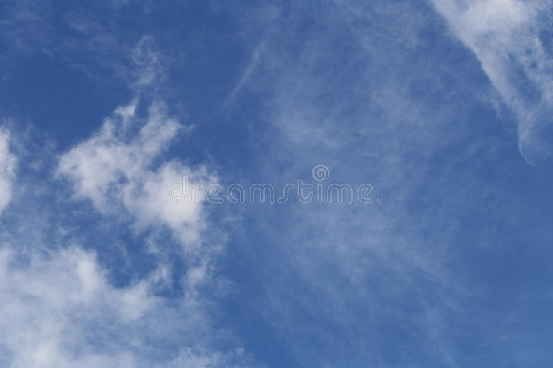 Cloud on blue sky in the daytime. Cloud on blue sky in the daytime for design nature background royalty free stock image