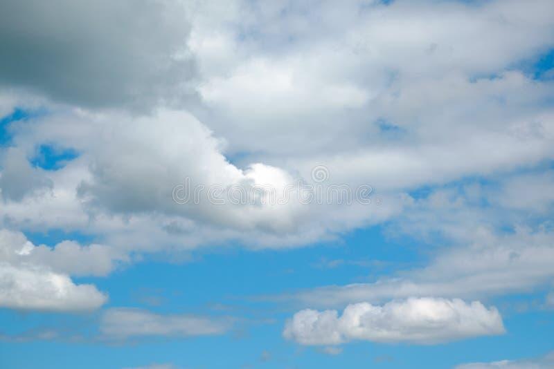 Cloud on blue sky. Panorama stock photo