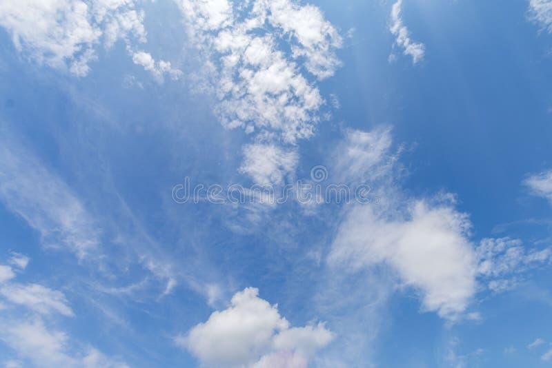 Cloud Blue Sky. A single cloud in a clear blue sky stock photography