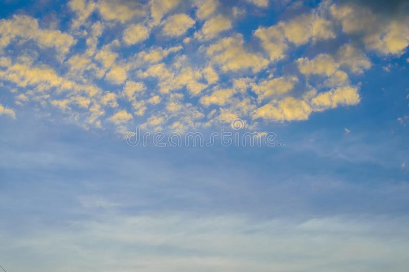 Cloud in the blue skyClouds many seamless in the blue sky. stock images