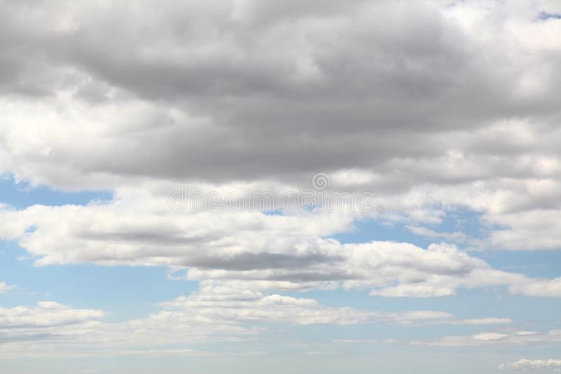Cloud in bule sky for background and sky scape.  stock photography