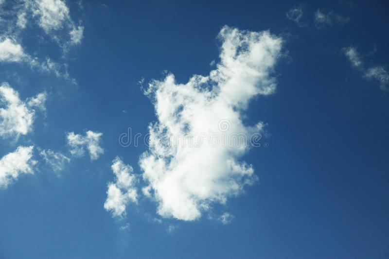 Cloud in bule sky for background and sky scape.  stock photo