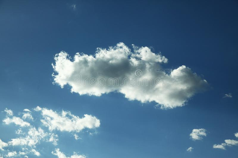 Cloud in bule sky for background and sky scape.  royalty free stock photos