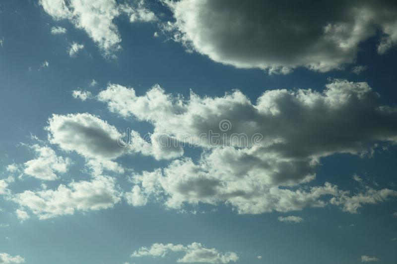 Cloud in bule sky for background and sky scape.  stock photos