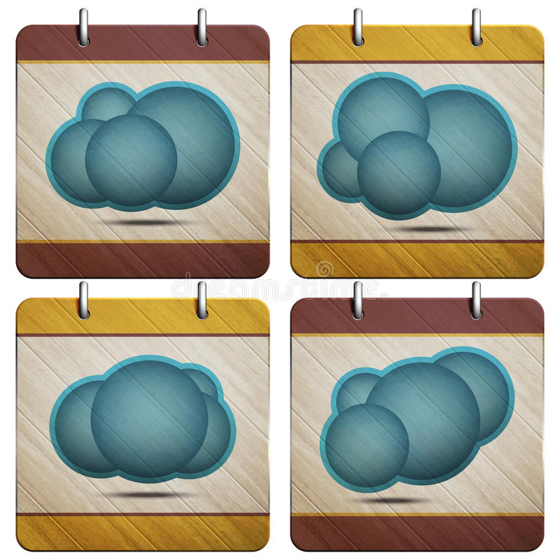 Download Cloud buttons stock vector. Illustration of collection - 32250963