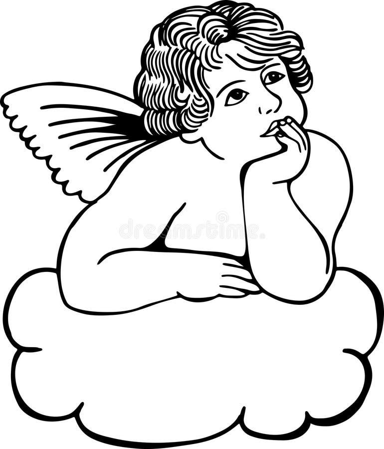 Free Cloud Cherub Royalty Free Stock Photo - 30431285
