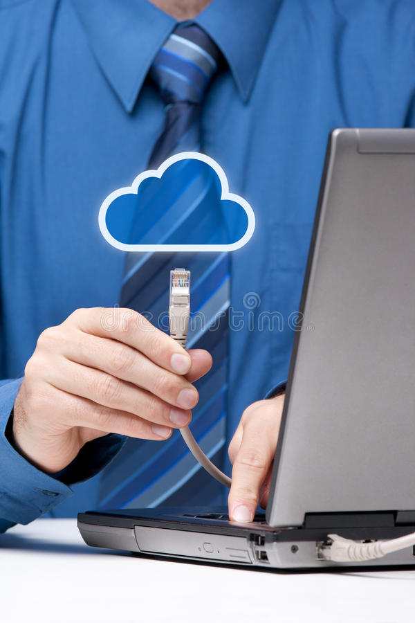 Download Cloud computing stock image. Image of computer, specialist - 21275171
