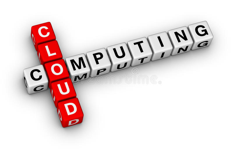 Download Cloud computing stock illustration. Illustration of technology - 22154134
