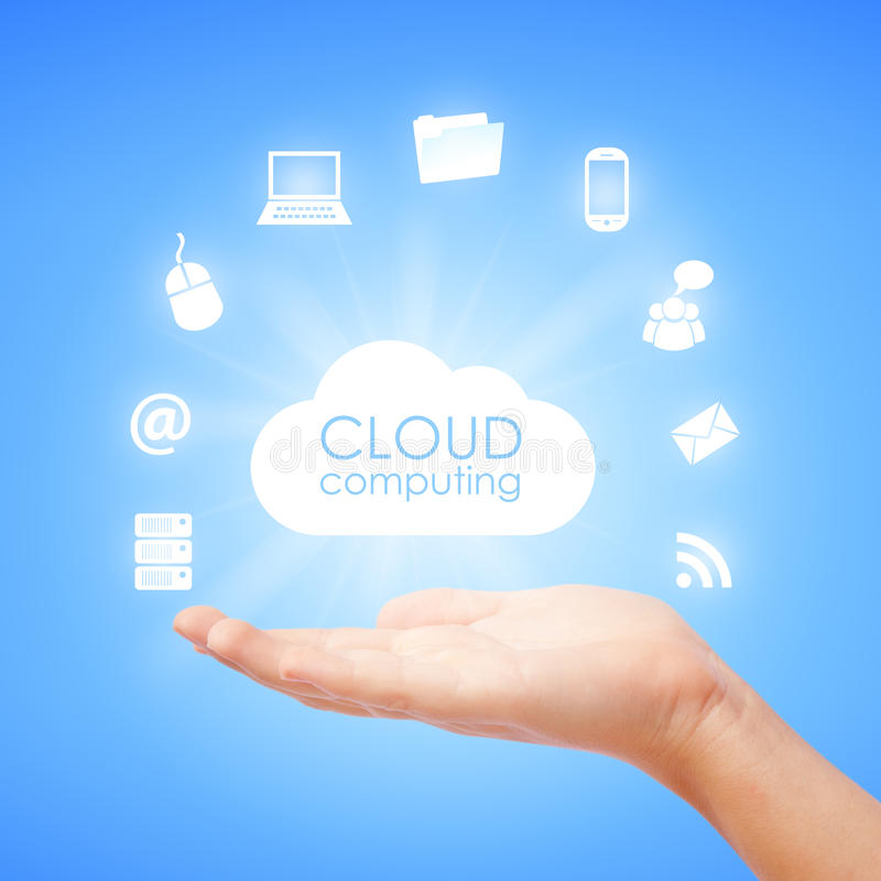 Download Cloud computing stock illustration. Image of cloudscape - 28154072