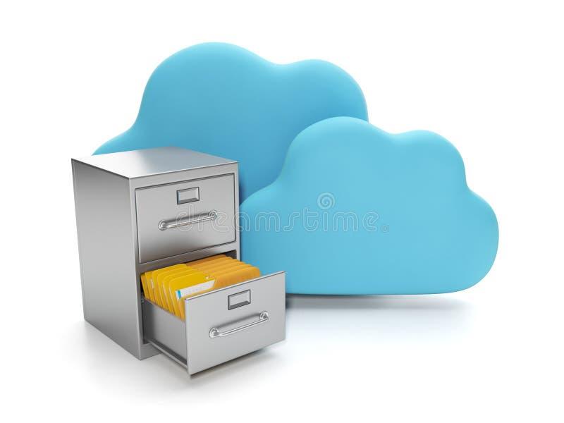 Download Cloud computing stock illustration. Illustration of graphic - 28406937