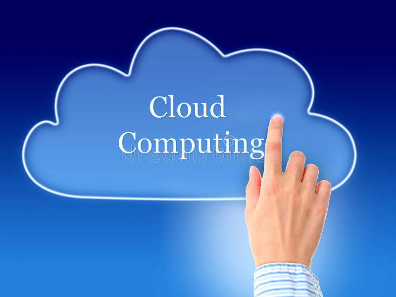 Download Cloud computing. stock photo. Image of digital, online - 28735528
