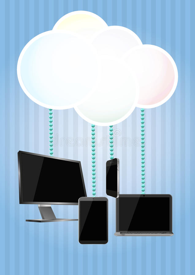 Download Cloud computing stock vector. Illustration of concept - 29209657