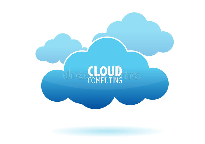 Download Cloud computing concept stock vector. Image of chatting - 19097450