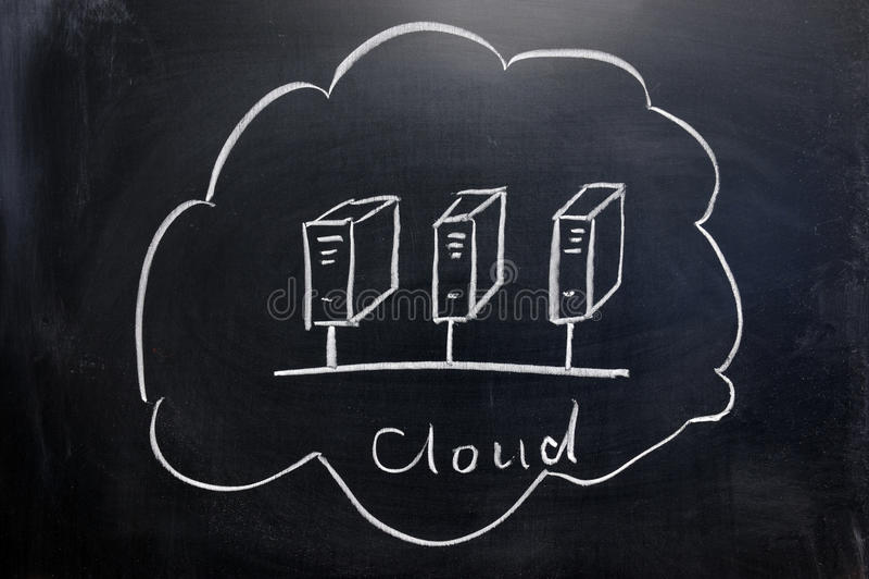 Download Cloud computing concept stock illustration. Image of illustration - 22787667