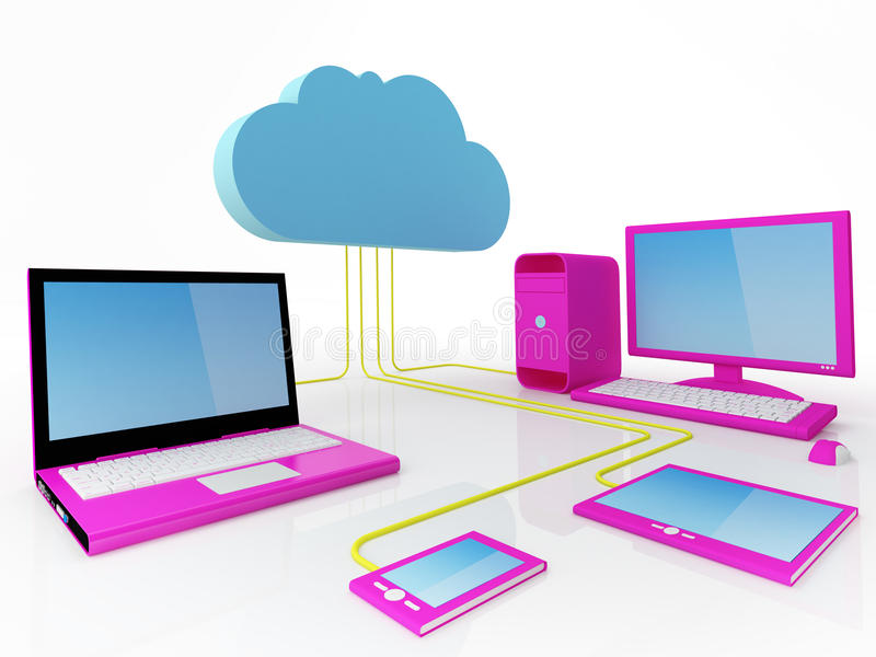 Download Cloud Computing Concept Stock Photography - Image: 24050722