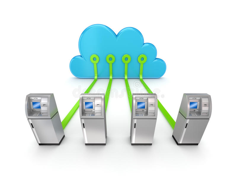 Cloud computing concept. vector illustration