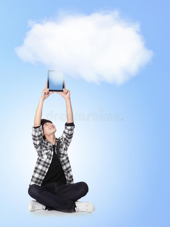 Download Cloud computing concept stock image. Image of network - 28804499