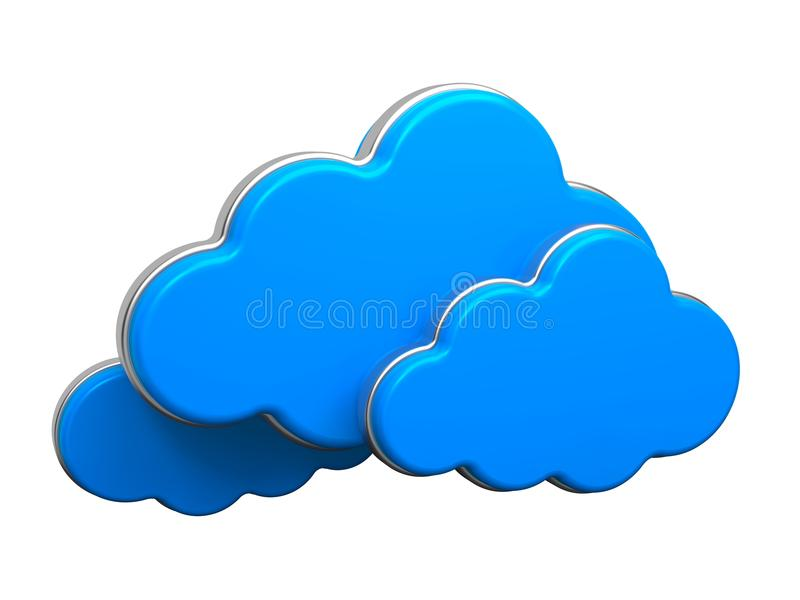 Download Cloud Computing Concept. stock illustration. Illustration of mobile - 29256178