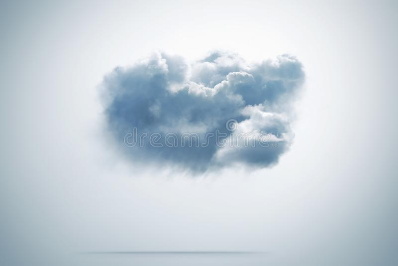 Cloud computing concept on background royalty free stock images