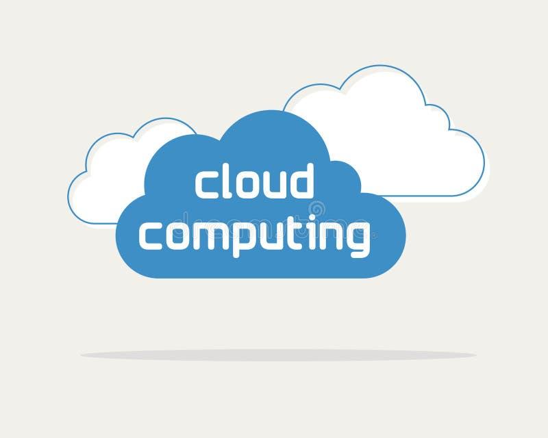 Download Cloud computing stock vector. Image of desktop, data - 29802091