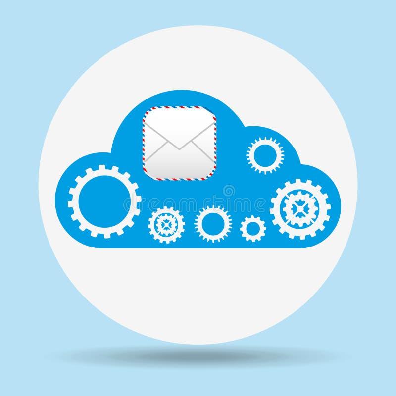 cloud computing design vector illustration